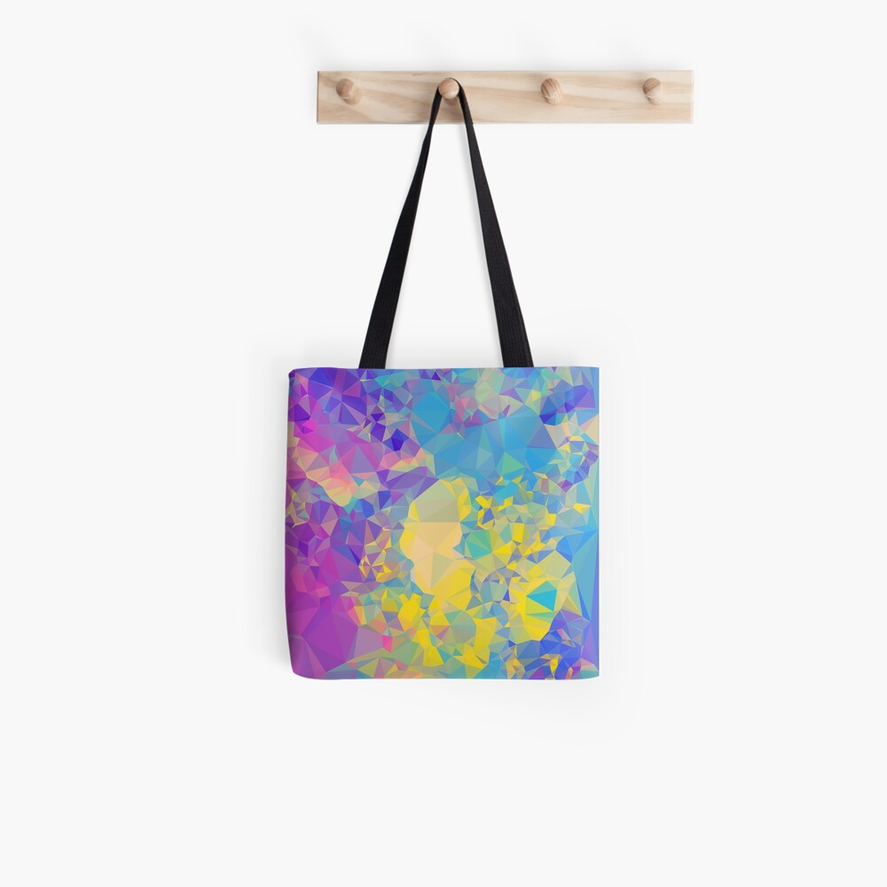 Polystone - Digital Abstract Tote Bag