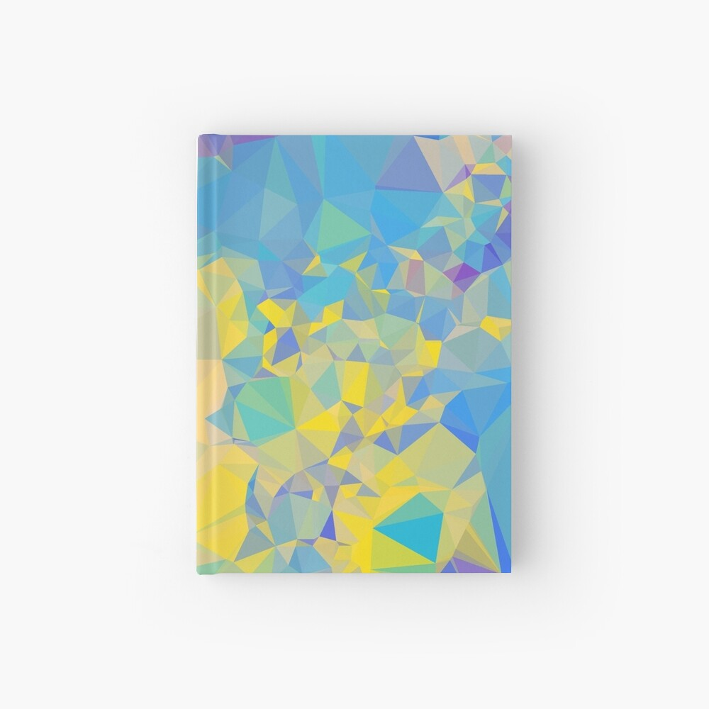 Polystone - Digital Abstract Hardcover Journal