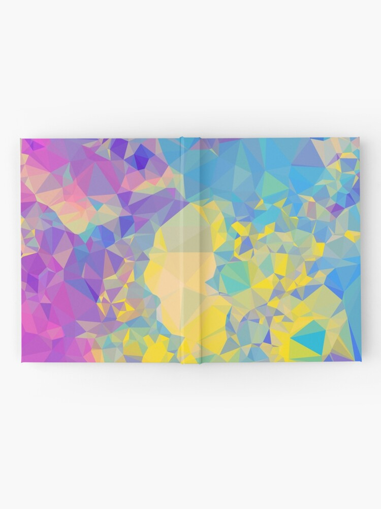 Alternate view of Polystone - Digital Abstract Hardcover Journal