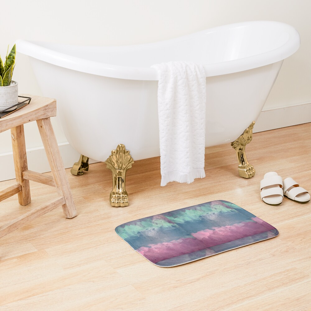 Unicorn Dreams  Bath Mat