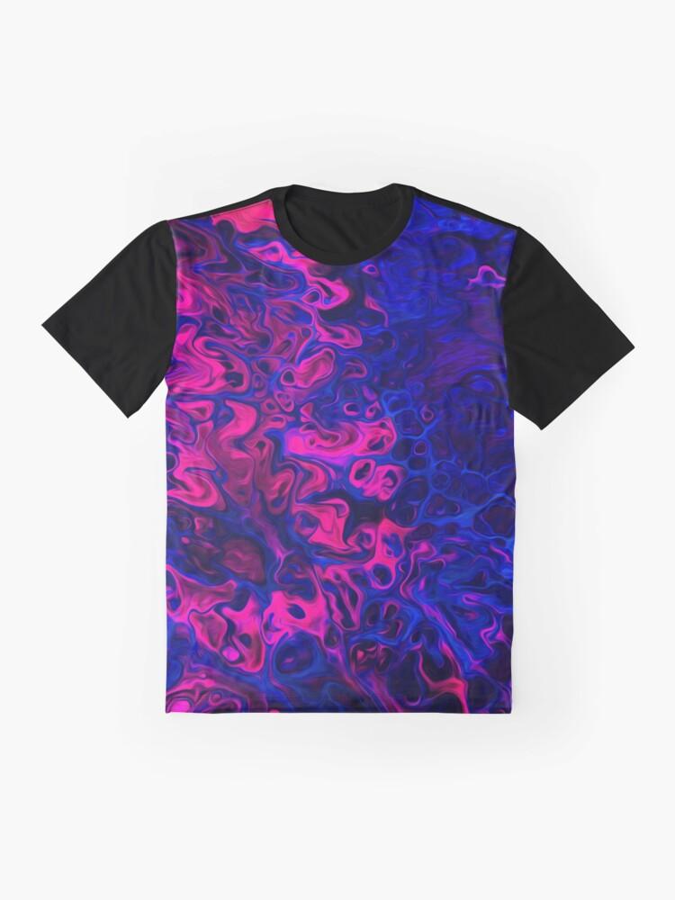 Alternate view of Blacklight Graphic T-Shirt