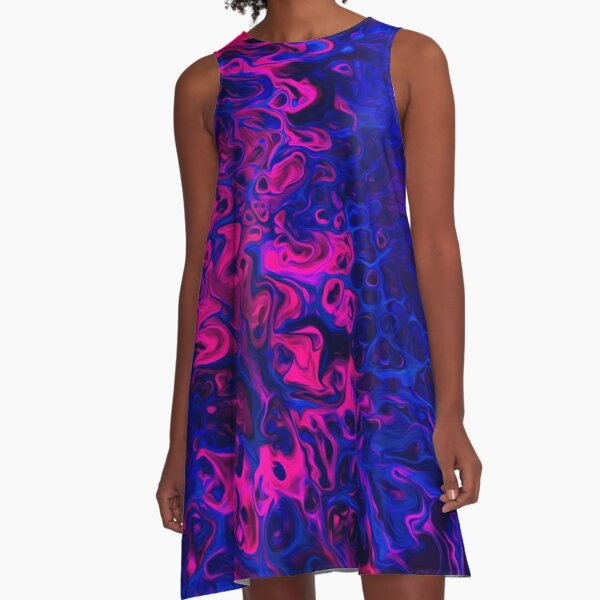 Blacklight A-Line Dress