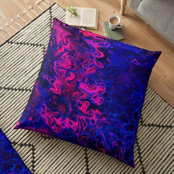 Blacklight Floor Pillow
