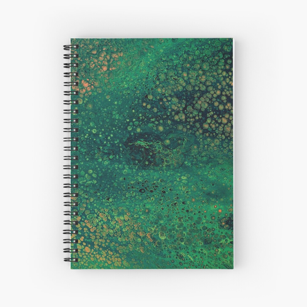 Surface Tension Spiral Notebook