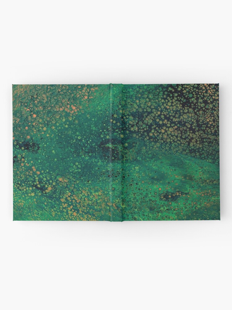 Alternate view of Surface Tension Hardcover Journal