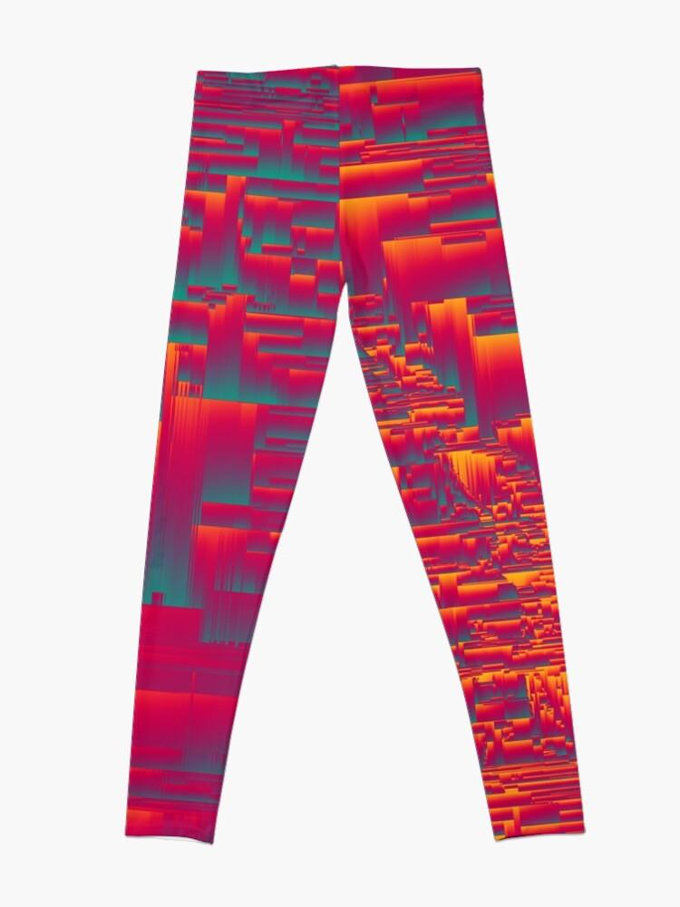Alternate view of Aztec Sunset Leggings