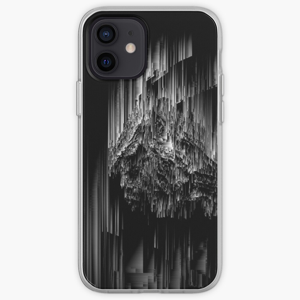 Night of the Glitches - Abstract Pixel Art iPhone Case & Cover
