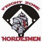 Fright Zone Hordesmen by MightyRain