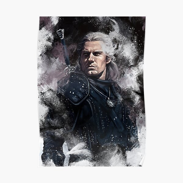 Geralt Posters Redbubble