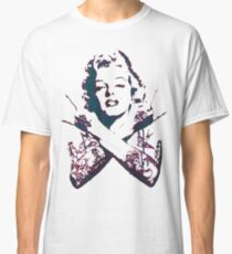 Punk Marilyn Classic T-Shirt