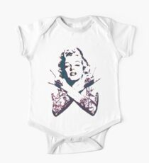 Punk Marilyn One Piece - Short Sleeve