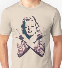 Punk Marilyn Unisex T-Shirt