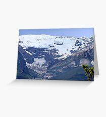 Lake Louise From Afar Greeting Card