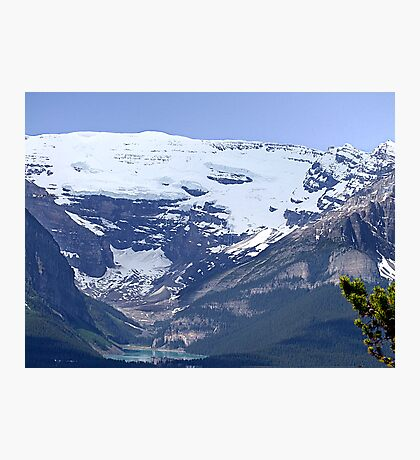 Lake Louise From Afar Photographic Print