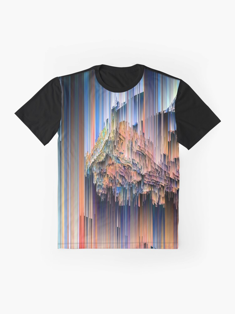 Alternate view of Weird Glitches - Abstract Pixel Art Graphic T-Shirt