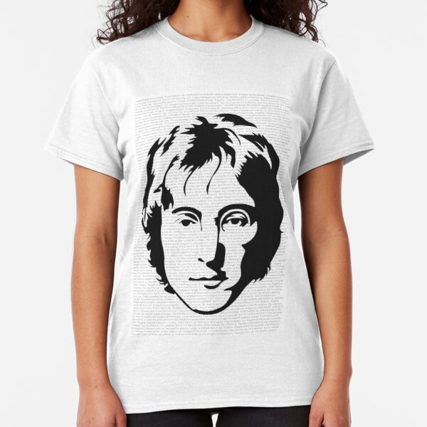 War Is Over If You Want It Womens John Lennon Tribute T-Shirt The Beatles Peace