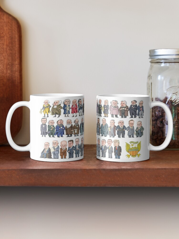 Alternate view of Presidents of the United States Mug
