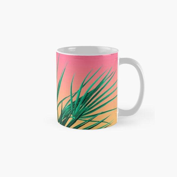 Vaporwave Palm Life - Miami Sunset Classic Mug