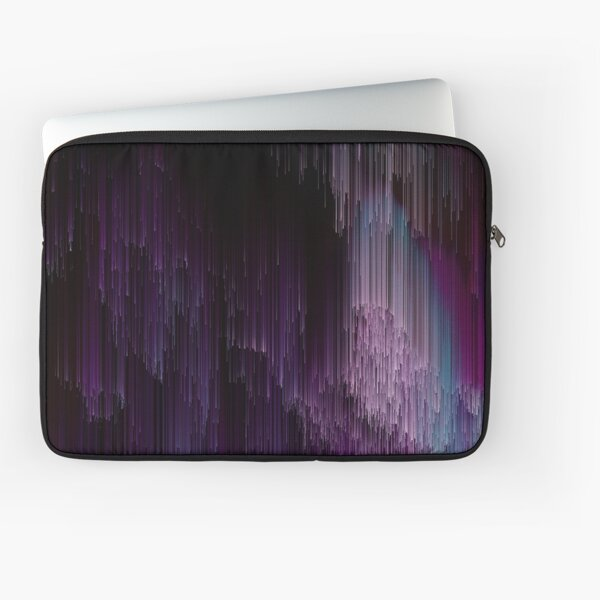 Darkness Glitches Out Laptop Sleeve
