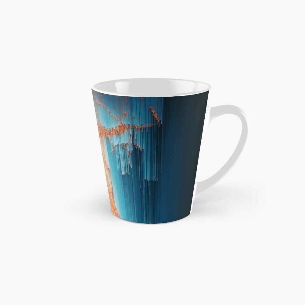 Glitch in the Dark - Abstract Pixel Art Mug