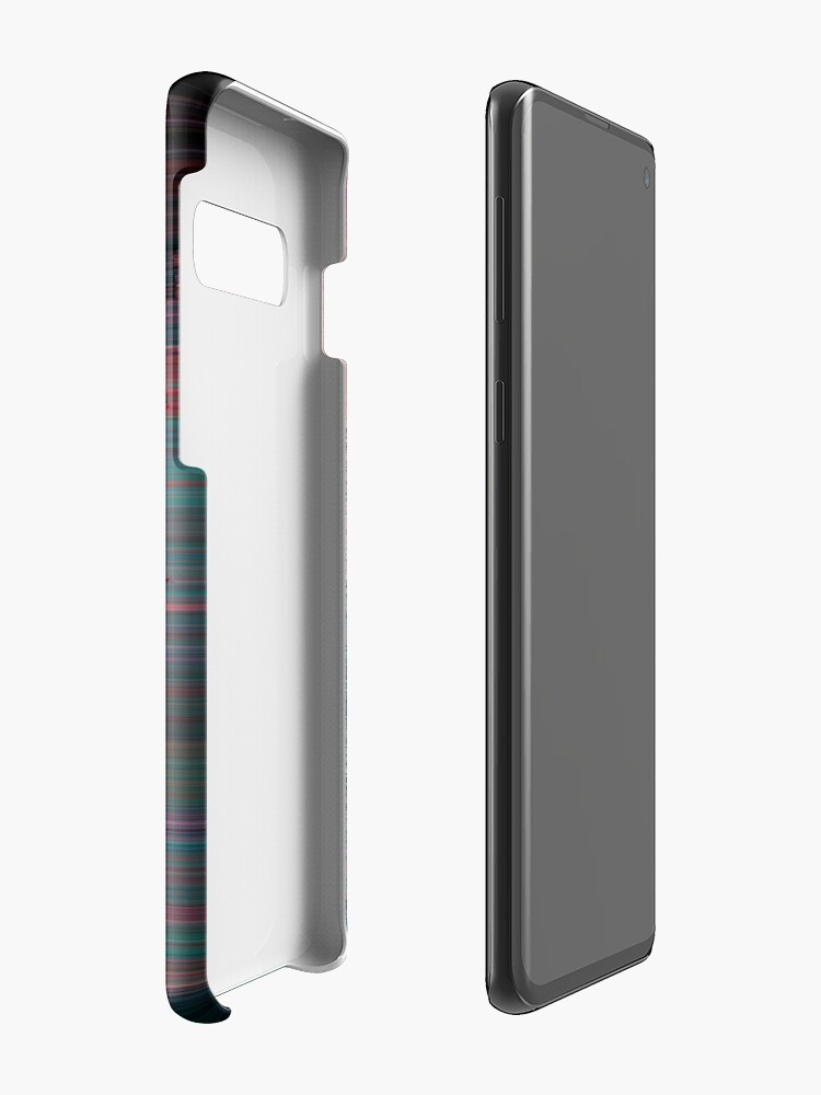 Alternate view of Glitched Out - Abstract Pixel Art Case & Skin for Samsung Galaxy