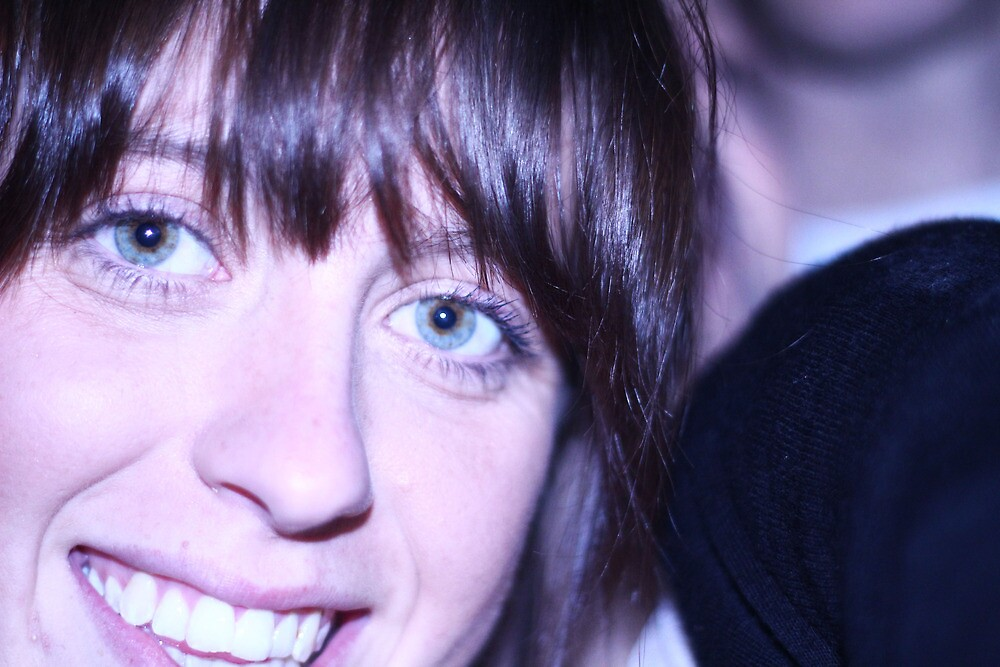 Blue-eyed babe. by Laurel Carmichael