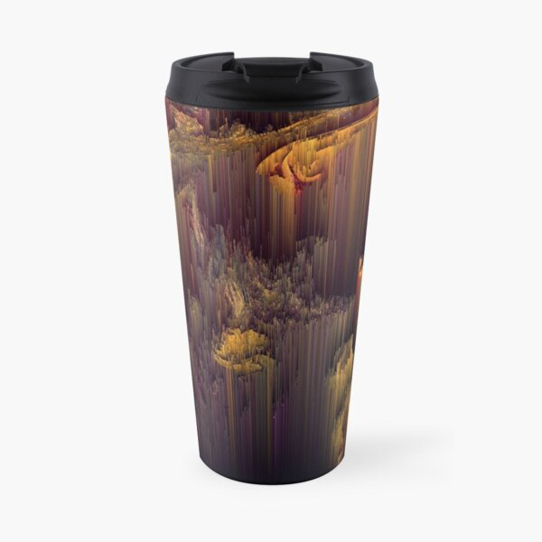 Glitch in the Dark Travel Mug