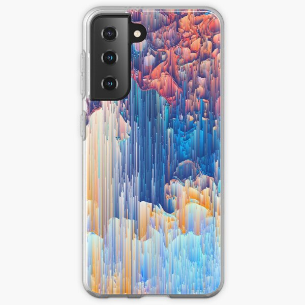 Glitches in the Clouds Samsung Galaxy Soft Case