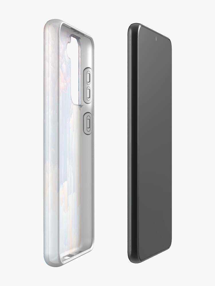 Alternate view of Glitches in the Clouds Case & Skin for Samsung Galaxy