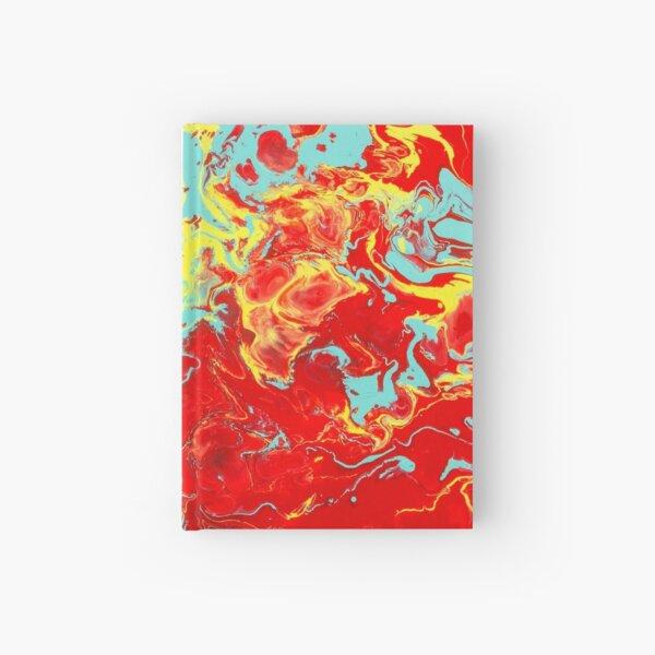 Splattered - Red Abstract Hardcover Journal