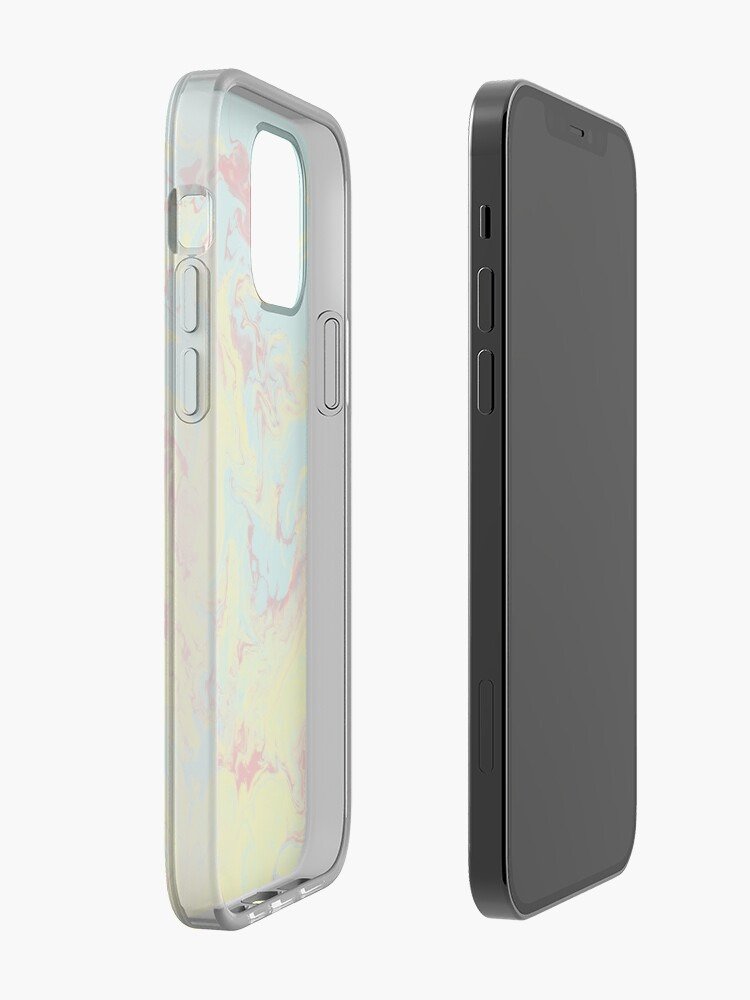 Alternate view of Splashing Down - An Abstract Piece iPhone Case & Cover