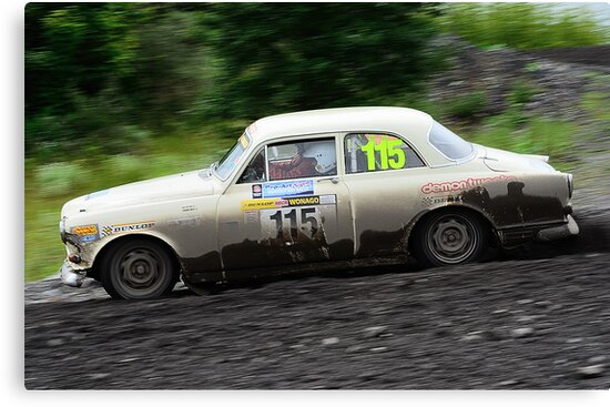Volvo Amazon rally car by Willie Jackson