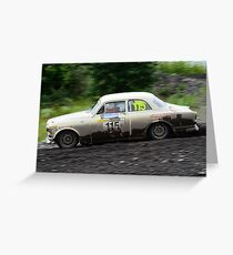 Volvo Amazon rally car Greeting Card