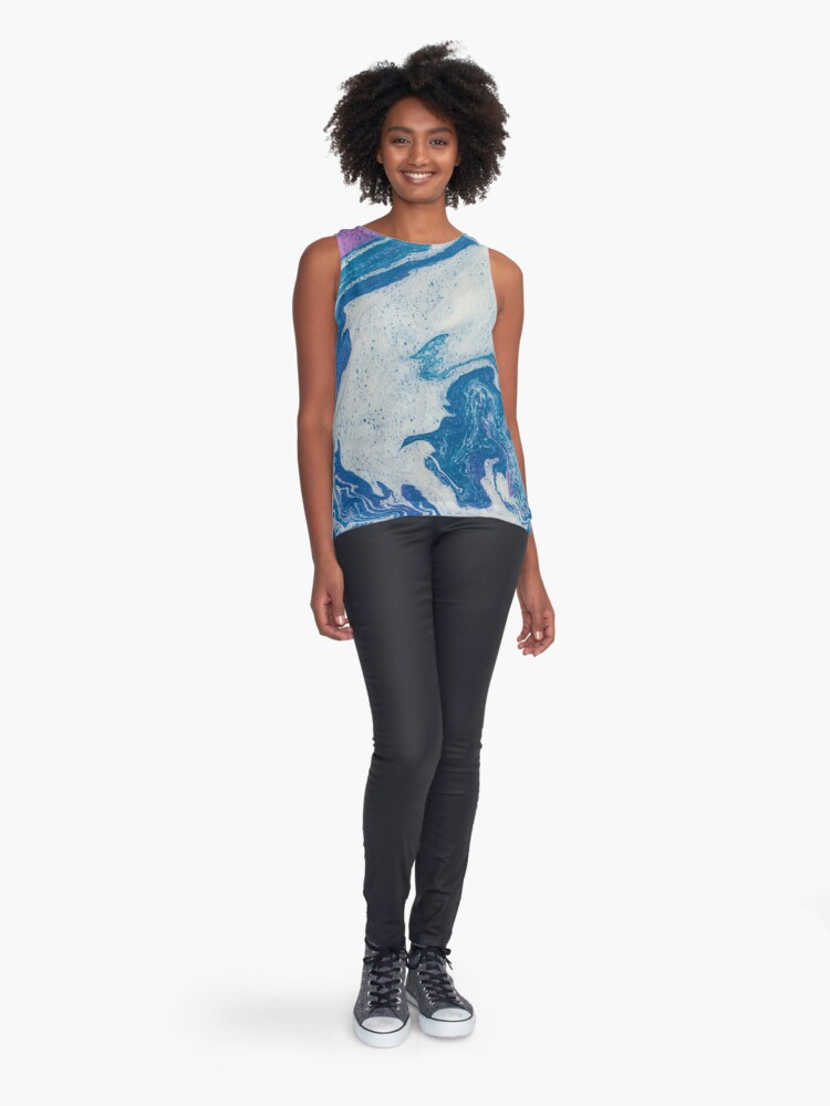 Alternate view of Solo Jazz - An Abstract Piece Sleeveless Top