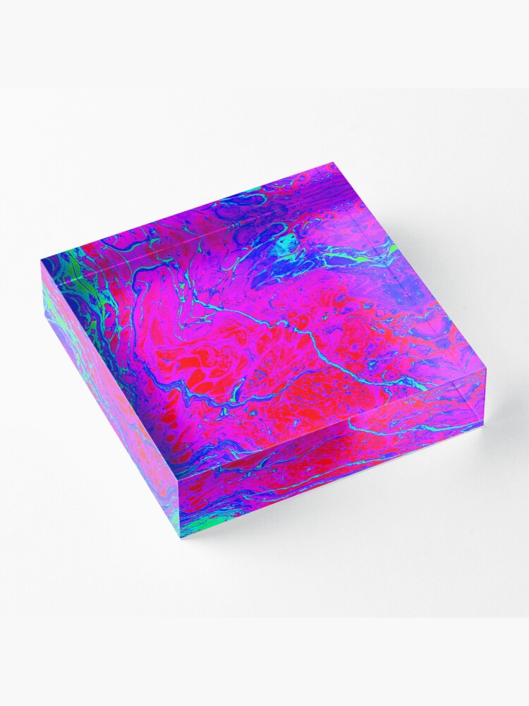 Alternate view of Radar Love - Abstract Acrylic Block