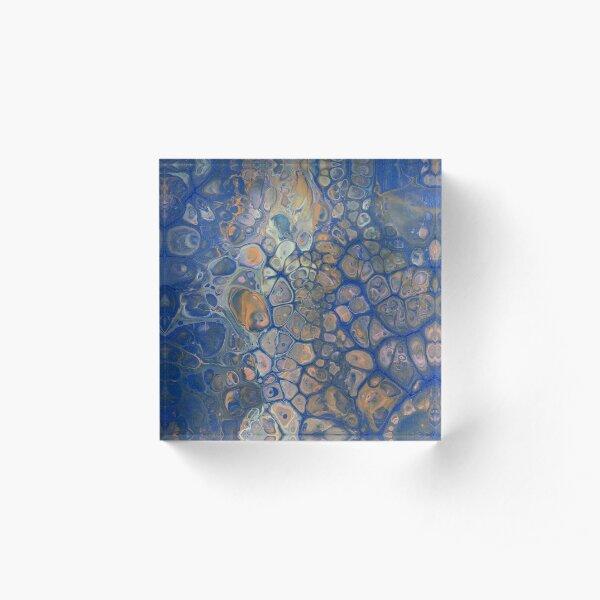 Octopus Abstraction Acrylic Block