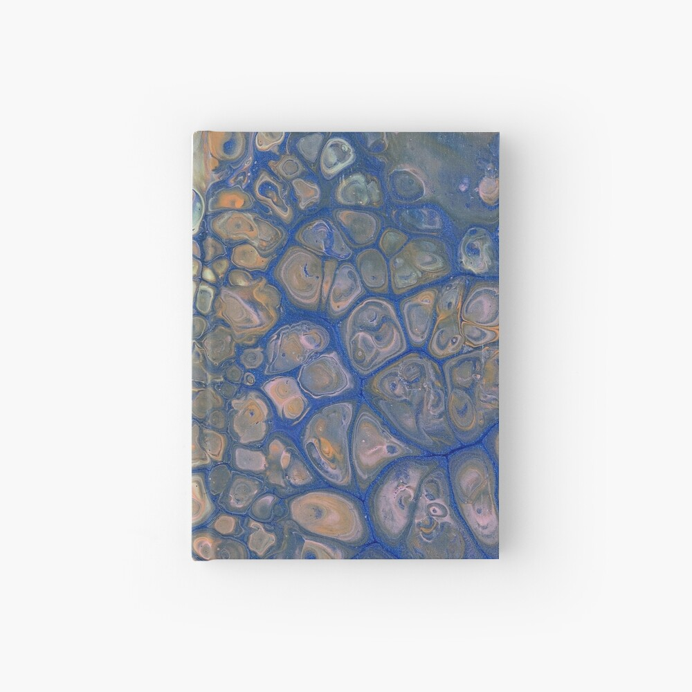 Octopus Abstraction Hardcover Journal