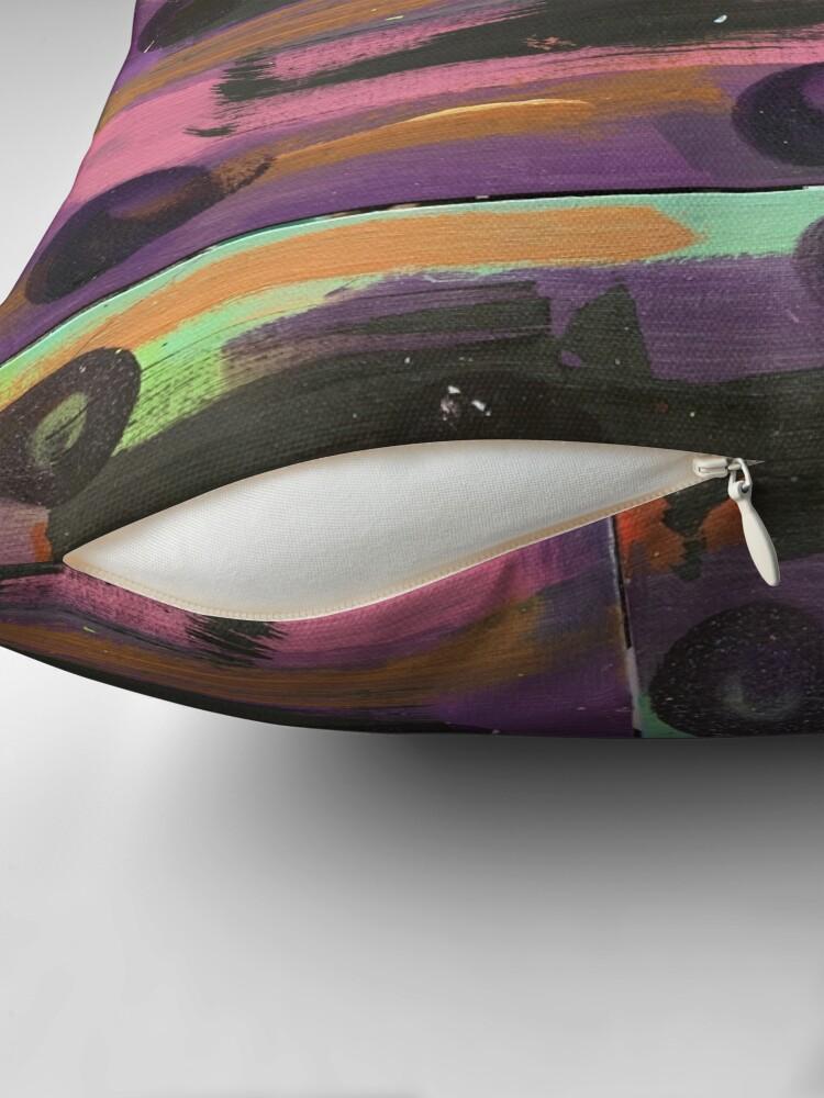 Alternate view of Indigo Ladybug  Floor Pillow
