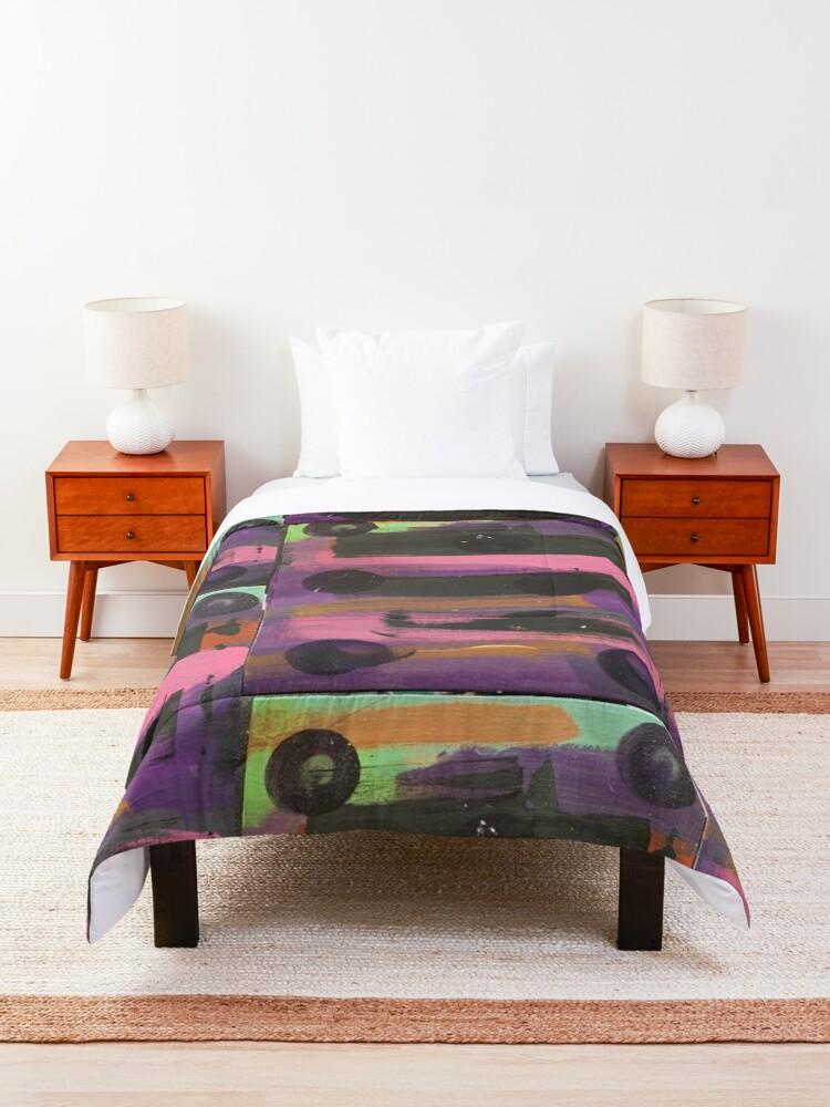 Alternate view of Indigo Ladybug  Comforter