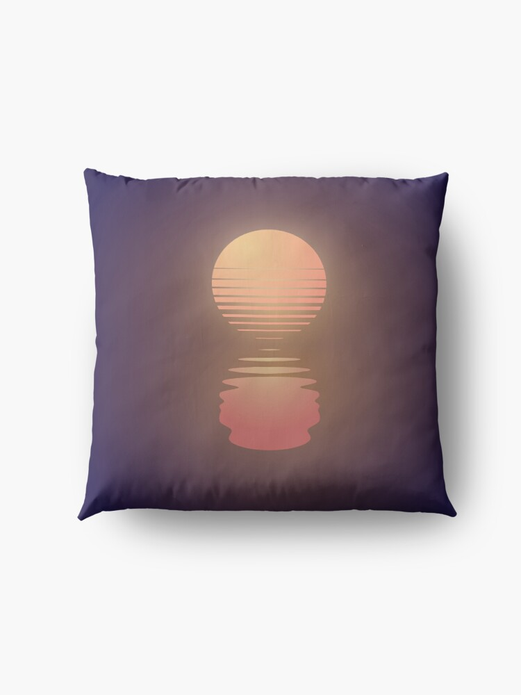 Alternate view of The Suns of Time Floor Pillow