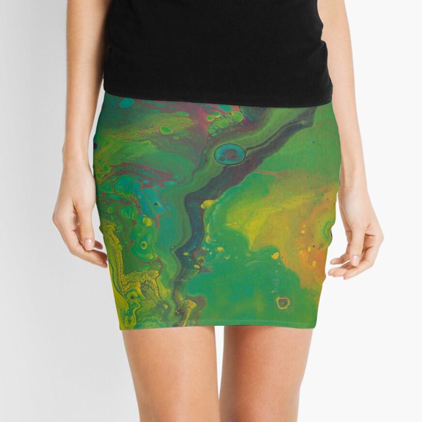 Unknown Landscape Mini Skirt