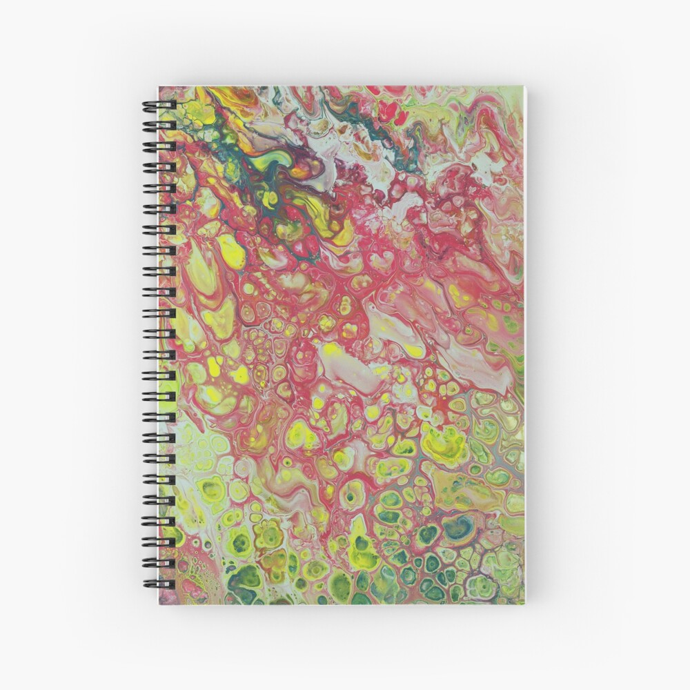 Strawberry Lemonade Spiral Notebook