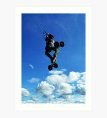 Extreme Sports - Kiteboarding Art Print
