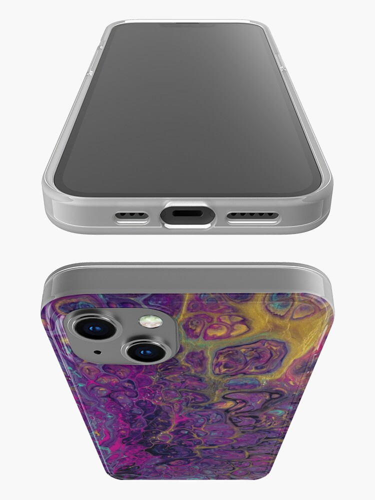 Alternate view of Psychedelic iPhone Case