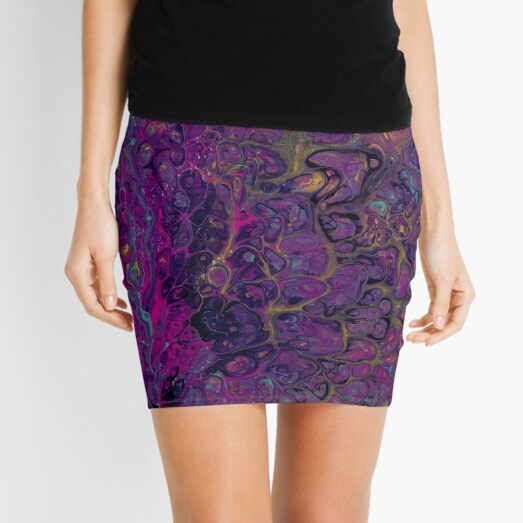 Psychedelic Mini Skirt