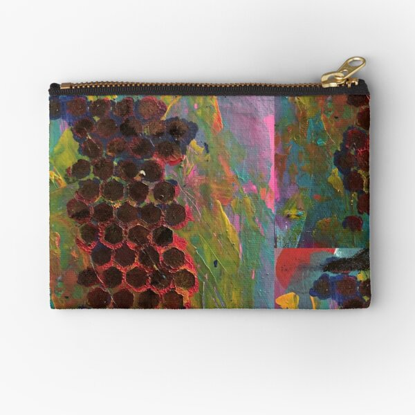 One Step Forward, Two Steps Back Zipper Pouch