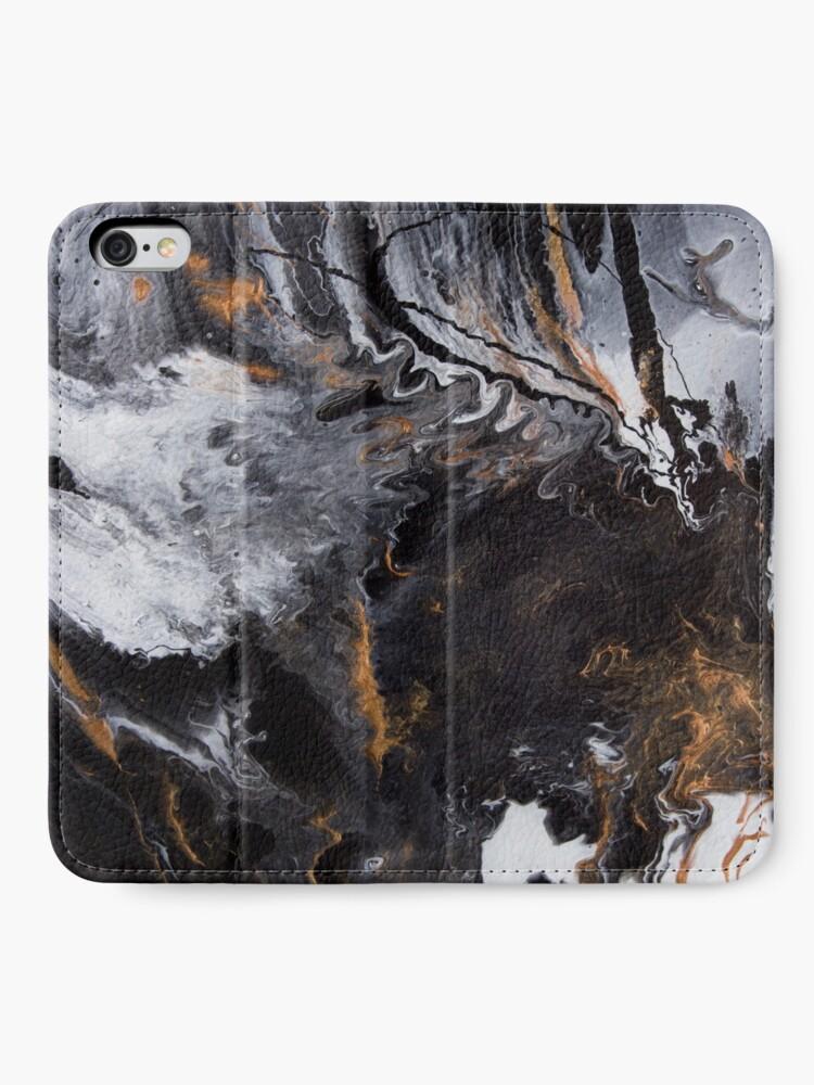 Alternate view of Something Completely Unlike Marble iPhone Wallet