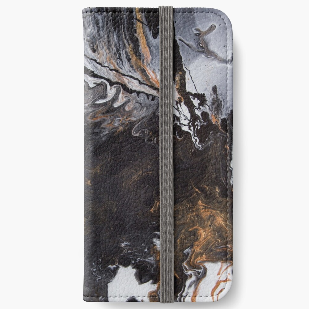Something Completely Unlike Marble iPhone Wallet