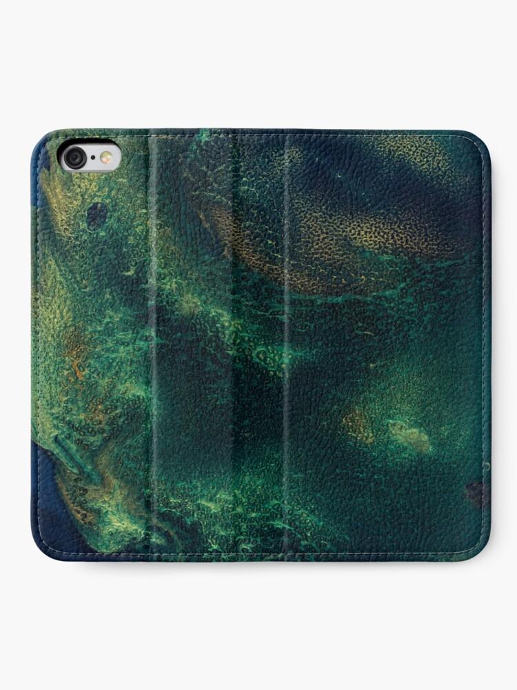 Alternate view of Unknown Depths iPhone Wallet
