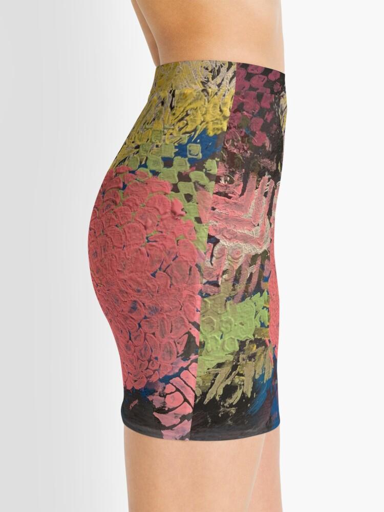 Alternate view of Coral Snowball Mini Skirt